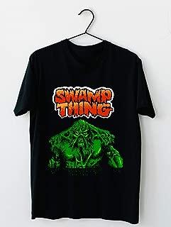 Swamp Thing - Nes - Title Screen 2 Cotton short sleeve T shirt, Hoodie for Men Women Unisex