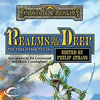 Realms of the Deep     A Forgotten Realms Anthology              By:                                                                                                                                 Ed Greenwood,                                                                                        Troy Denning,                                                                                        Elaine Cunningham,                   and others                          Narrated by:                                                                                                                                 Lance Axt                      Length: 9 hrs and 46 mins     10 ratings     Overall 3.6