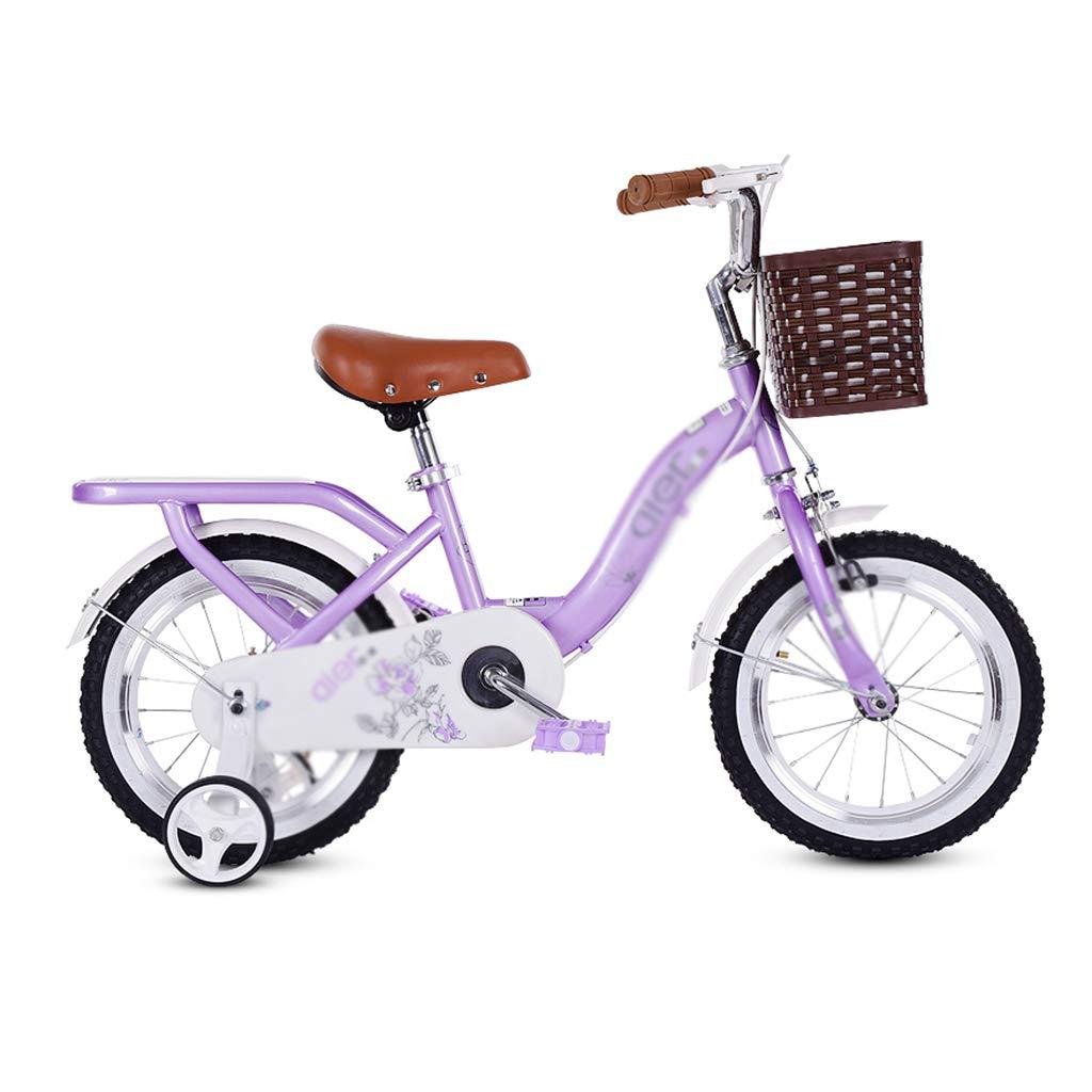 Bicicleta de Carretera para niños con Velocidad Variable, Bicicleta de montaña para niños y niñas, Bicicleta de Dibujos Animados más Segura: Amazon.es: Hogar