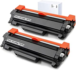 XZMHX Compatible Toner Cartridge Replacement for Brother TN760 TN-760 TN730 TN-730 for DCP-L2550DW HL-L2390DW HL-L2370DWXL HL-L2370DW MFC-L2710DW MFC-L2750DWXL MFC-L2750DW MFC-L2710DW(2P with Chip)