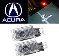 Patricon 2-Pack Car Door Lights LED Logo for Acura Accessory,Ghost Shadow Auto Emblem Courtesy Step Lights for MDX/RLX/ZDX/TLX/TL, Entry Welcome Lights Courtesy Lights Ground Lamps Kit Replacement