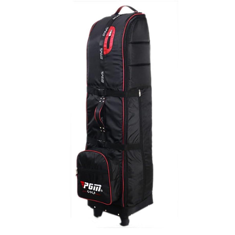 ボット見つけるする必要がある1stモール 多機能 キャリーゴルフバッグ ロック 持ち運びカバー付属 大容量 キャディバッグ (レッド) ST-HKB009-RD