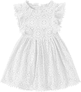 Best toddler white lace dress Reviews