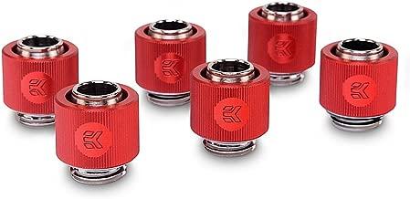 EKWB EK-ACF Compression Fitting for Soft Tubing, 10/13mm (3/8