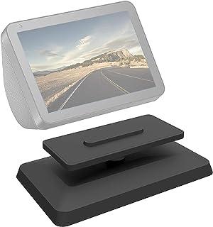 Verstelbare Stand voor Echo Show 8, Base Mount Accessoire Compatibel met Amazon Alexa Smart Speakers Tilt Functie 360 grad...