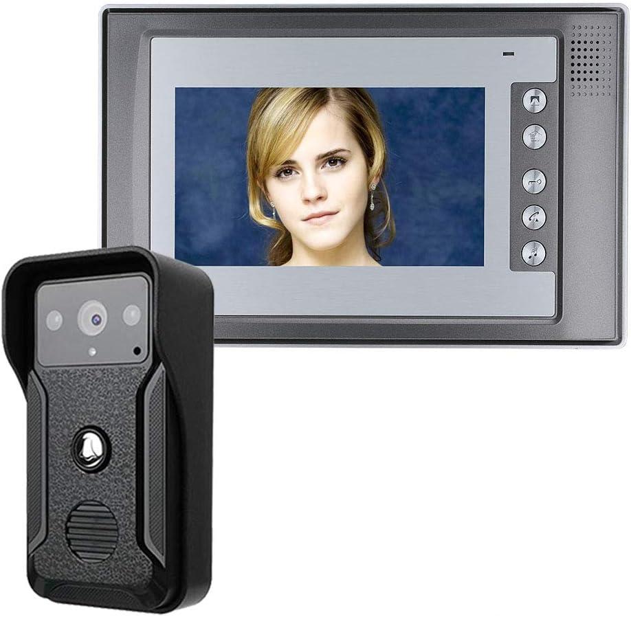 keduoduo 7 Inch Video Door Jacksonville Direct store Mall 1-Camera Intercom Kit Doorbell Phone