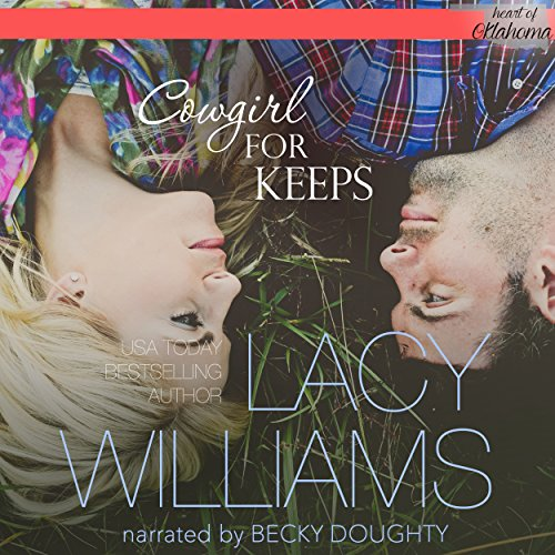 Cowgirl for Keeps audiobook cover art