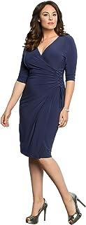 Kiyonna Women's Plus Size Vixen Cocktail Dress