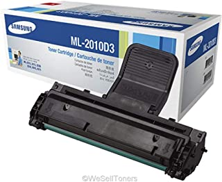 Samsung ML-2010D3 OEM Copier Toner: Black Yields 3,000 Pages