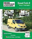 E.T.A.I - Revue Technique Automobile B755.5 - RENAULT TRAFIC II - 2006 à 2017