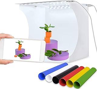 Portable Photo Studio Foldable Shooting Tent Photography Light box Kit with Top Hole Mini Photo Studio Photography Box wit...