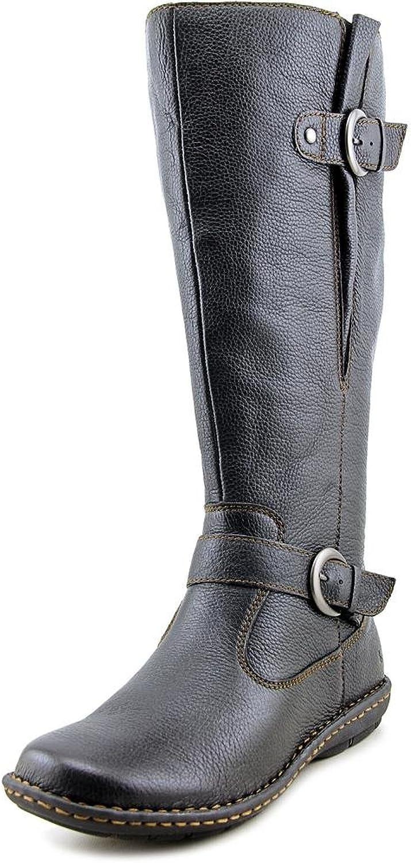 B.O.C. Womens Faye Leather Closed Toe Knee High Fashion Boots