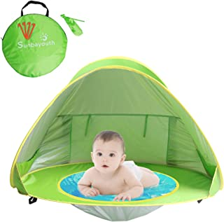 Sunba Youth Baby Beach Tent, Baby Pool Tent, UV Protection Sun Shelters (Green)