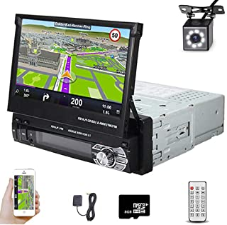 Car Stereo in Dash Single DIN 7 Inch HD Touch Digital...