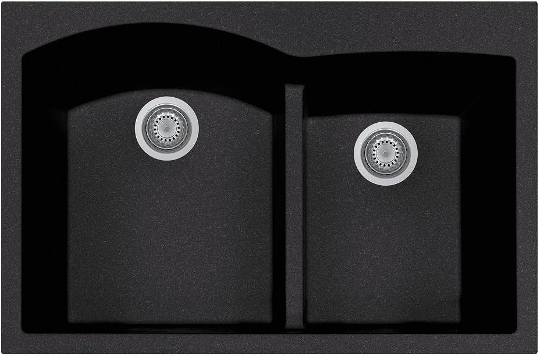 LaToscana AM8420-44 Plados Sink, Black Metallic