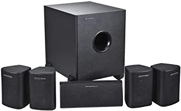 Best Monoprice 5.1 Channel Home Theater Satellite Speakers And Subwoofer - Black Review