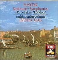 Haydn Symphonies 102 & 104 English Chamber Orchestra Jeffrey Tate