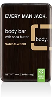 Every Man Jack Body Bar, Sandalwood, 7.0-ounce