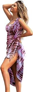 Sarongs for Women Beach wrap Women's Swimsuit Cover ups Sarong Skirt Swim Pareo