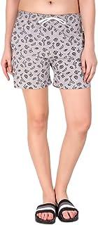 KIBA RETAIL Casual wear Summer wear Comfortable Printed Shorts for Women Cotton Fabric