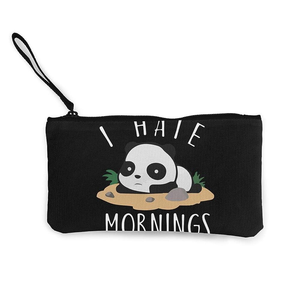 コース記念日香りMeixin I Hate The Morning Panda かわいいパンダ 財布 長財布 ラウンドファスナー メンズ レディース ギフトボックス付き 小銭入れ 大容量 軽量