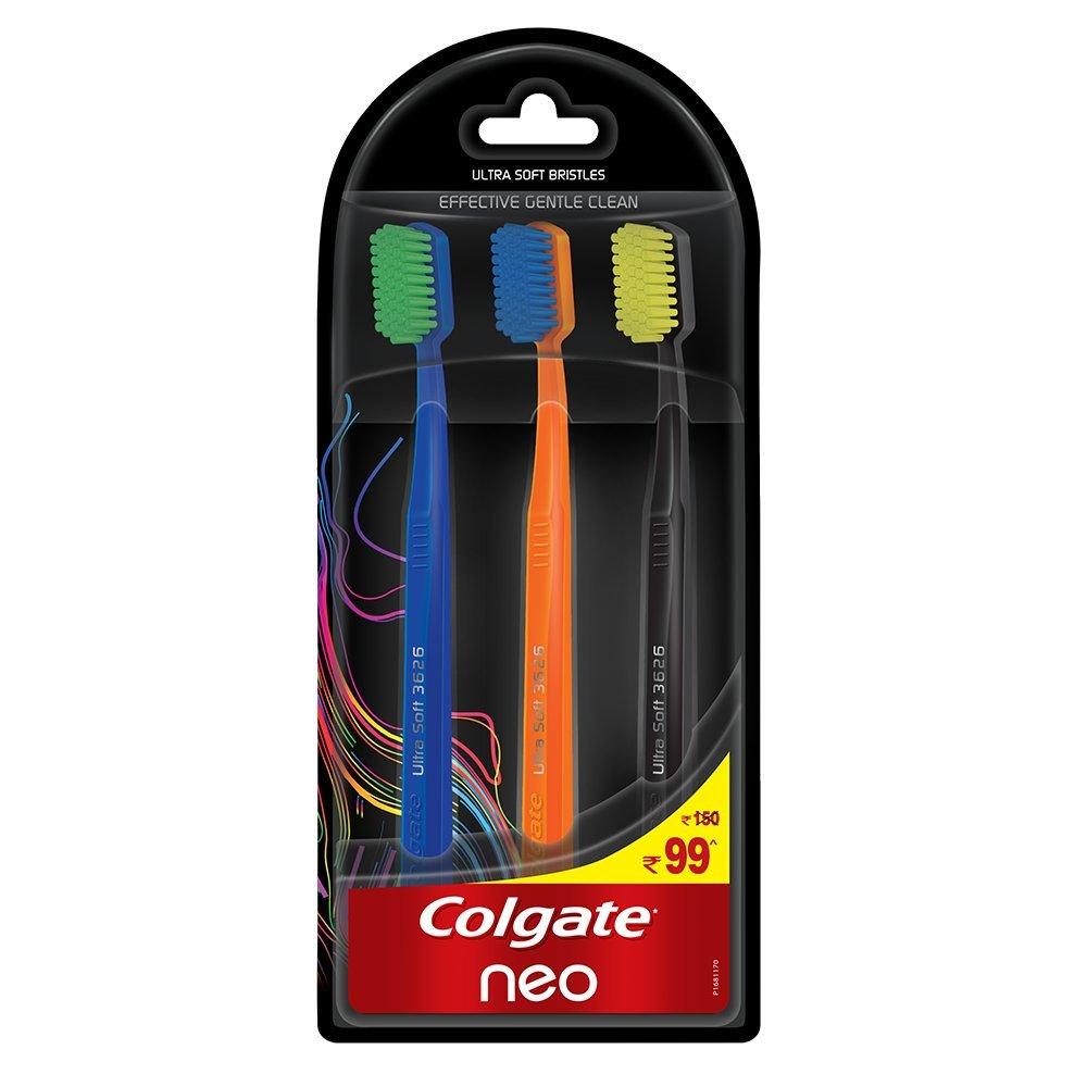 セール発揮する気づくなるColgate Neo Toothbrush Effective Gentle Clean