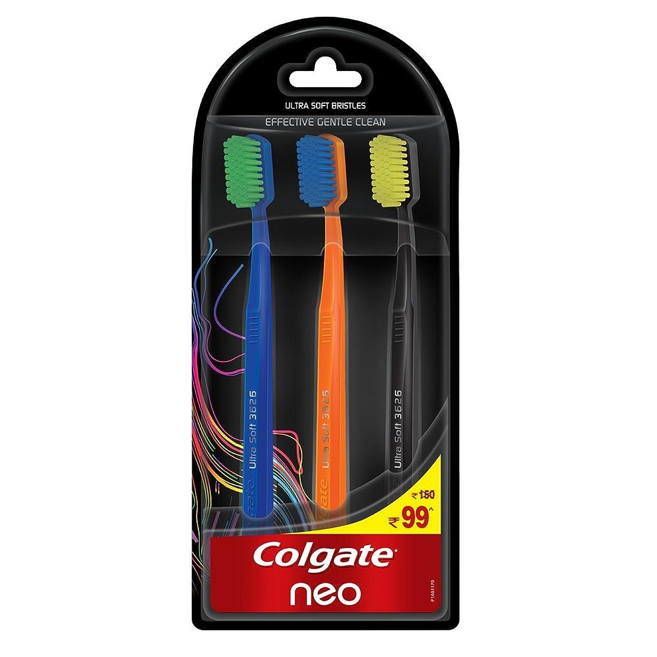 罹患率世論調査チャンバーColgate Neo Toothbrush Effective Gentle Clean