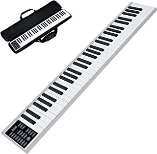 電子ピアノ 61鍵 コンパクト 高音質 MIDI対応 長時間利用可能 軽量 練習にピッタリ MIDI対応