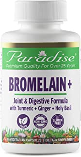 Paradise Herbs - Bromelain - Joint & Digestive Formula | Helps Support Healthy Inflammatory Response + Synergistic Herbs T...