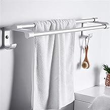 Wieszak na ręczniki wieszaki na ręczniki do łazienki, drążek na ręczniki półka na ręczniki wielofunkcyjny wieszak na ręczn...