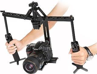 Eoogere ハンドヘルド機械スタビライザー アルミ合金製 ツイングリップジンバル 最大荷重8kg 専用収納バッグ付き DSLR Canon Nikon Sony Pentax Olympus ビデオカメラ デジタル一眼レフ DVなどに対応