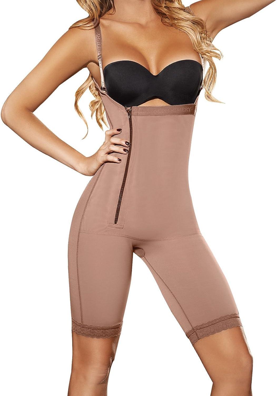 Ann Chery 5148 Women's Powernet Angelina Shapewear Small Brown