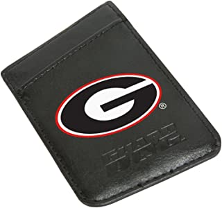 Guard Dog Georgia Bulldogs Card Keeper/Card Holder Leather Phone Wallet with RFID Protection