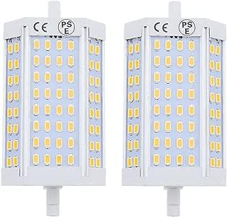 Bonlux Double Ended R7S J118 LED Light Bulb 25W Daylgiht 5000K J Type 118mm 200W Halogen Bulb Equivalent LED Flood Light (Pack of 2)