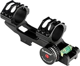 ohhunt 25.4mm 30mm Scope Rings Offset Mount Bubble Level Angle Cosine Indicator Weaver Picatinny