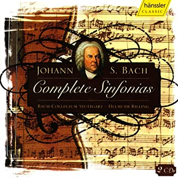 Bach, J.S.: Complete Sinfonias from Cantatas (Rilling)