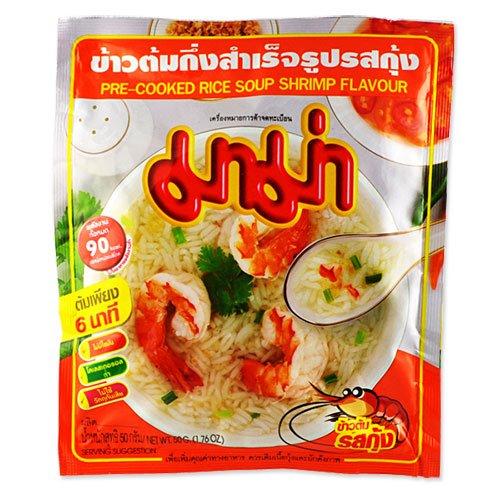 Thai Instant Jok Zuppa di riso (gamberetti) da mamma