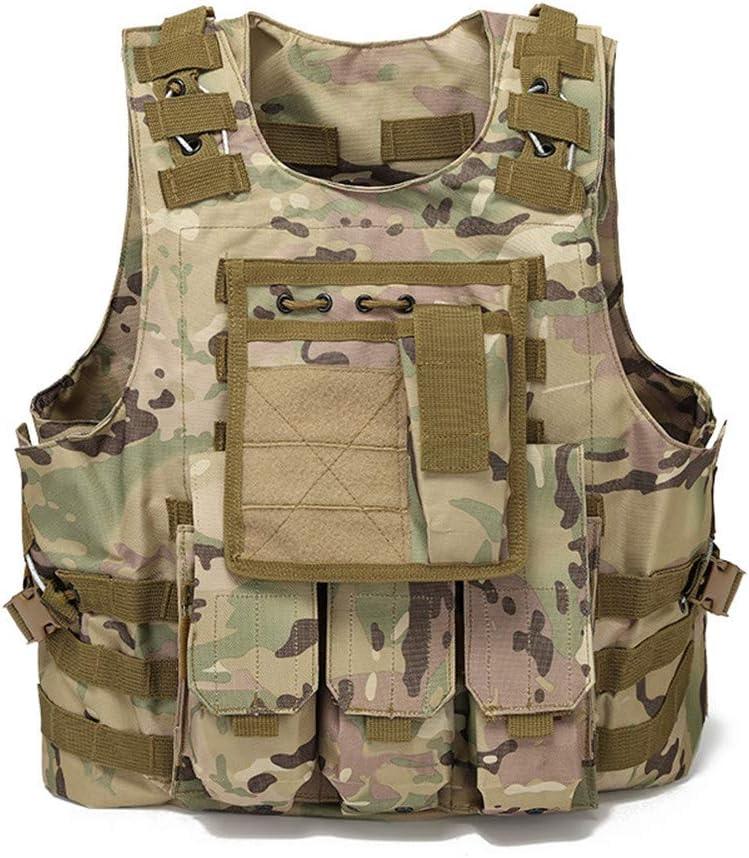 NOBUNO Philadelphia Mall Tactical Vest Max 57% OFF Multifunctional Comba Strap Sling