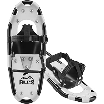 "ALPS Lightweight Kids Snowshoes, Boys & Girls +Carrying Tote Bag 14""/17""/19""(3-17Y)"