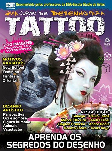 Guia Curso de Desenho para Tattoo 02 (Portuguese Edition)