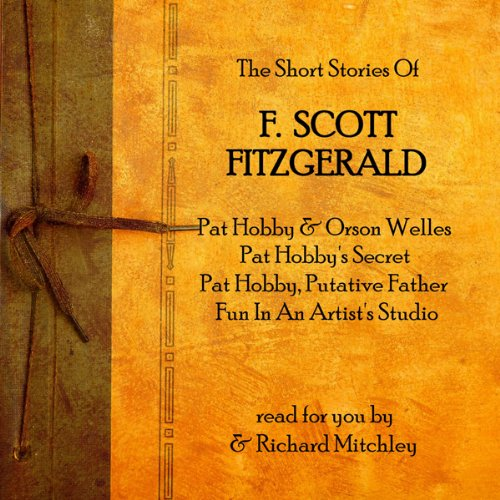 『F Scott Fitzgerald: The Pat Hobby Stories』のカバーアート