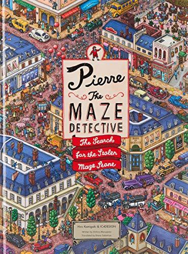 Kamigaki, H: Pierre the Maze Detective: The Search for the Stolen Maze Stone