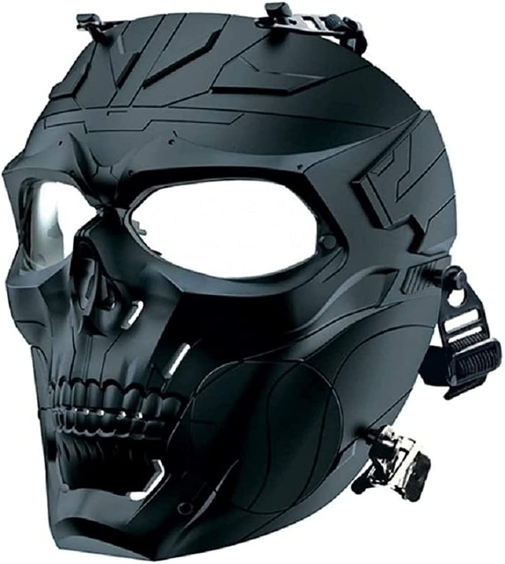 KEYUTE Tactical Protective Large special price !! Adjustable Ma Popular brand in the world Skull Airsoft Full-Face