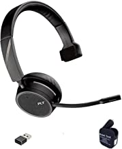 $169 » Plantronics Voyager 4210-UC Bluetooth Headset - USB-A Dongle Bundle, Streaming Music, PC Voice Apps, Collaboration, Softph...