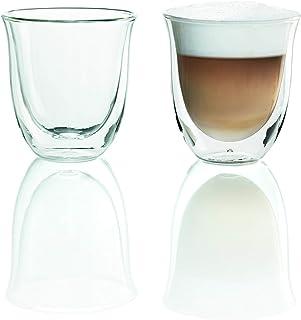 De'Longhi 5513214601 Cappuccino Termoglas, 2 Styckenen