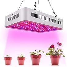 Calistouk 300W/600W/1000W/1200W LED Grow Light Full Spectrum para Plantas de Invernadero hidropónicas de Interior Veg and Bloom 100pcs 10W LED (1000W)