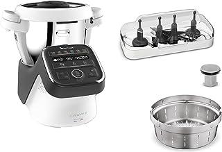 Moulinex Companion XL Robot Cuiseur Multifonction, 1550 W, Capacité utile du bol 3 L, 12 programmes, Soupes, Viande, Gaspa...