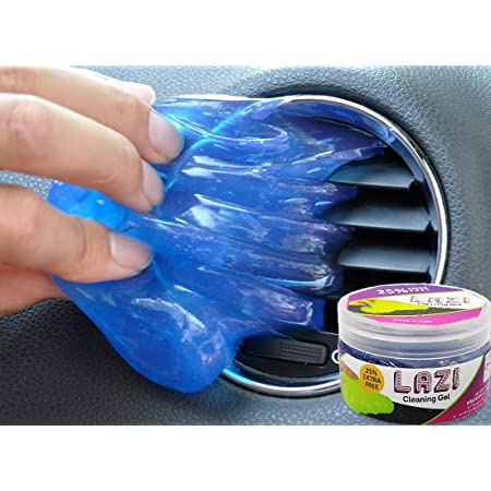 LAZI Multipurpose Car AC vent Interior Dust Cleaning Gel Jelly Detailing Putty Cleaner Kit Universal Car Interior, Keyboard, PC, Laptop, Electronic Gadget Cleaning Kit (PACK OF 1-100gm)
