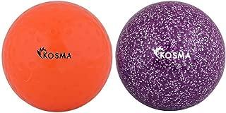 /Set di 4/palle lisce hockey Outdoor Sports PVC pratica palla da allenamento Kosma/