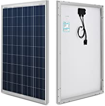 Renogy 100W 12V Solar Panel High Efficiency Module PV Power for Battery Charging Boat,..